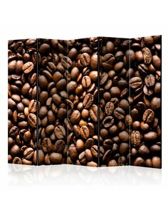 Paravent 5 volets ROASTED COFFEE BEANS