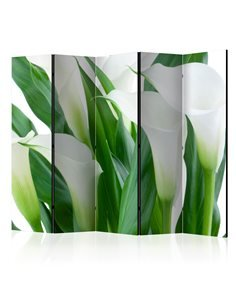 Paravent 5 volets BUNCH OF FLOWERS callas