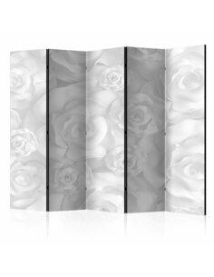 Paravent 5 volets PLASTER FLOWERS