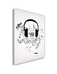 Tableau XXL music motive Image imprimé sur toile