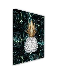 Tableau XXL pineapple Image tropical imprimé sur toile