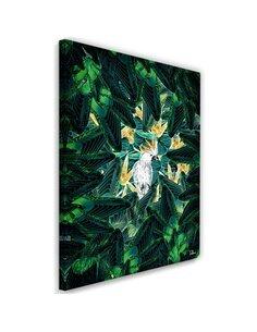 Tableau XXL cockatoo Image tropical imprimé sur toile