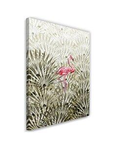Tableau XXL flamingo Image Decor digital Pink imprimé sur toile