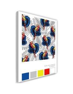 Tableau XXL art print Image Decor exotic imprimé sur toile