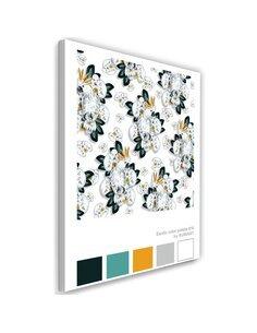 Tableau XXL Cacatoes Image Decor White imprimé sur toile