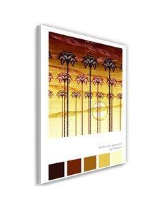 Tableau XXL sunset Image Decor Orange imprimé sur toile