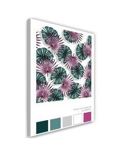Tableau XXL digital art Image Decor Purple imprimé sur toile