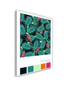 Tableau XXL parrots Image Decor28x39 cm imprimé sur toile