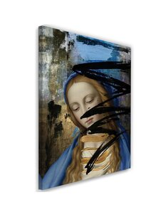 Tableau XXL Expressionism Image imprimé sur toile