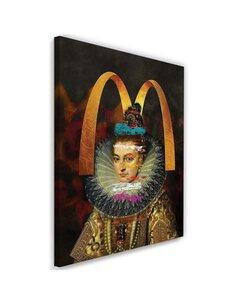 Tableau haute couture Image Decor imprimé sur toile