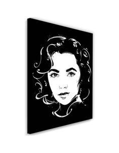 Tableau XXL actress Image imprimé sur toile