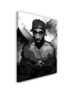 Tableau XXL rapper Image Decor imprimé sur toile