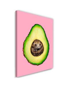 Tableau XXL funny art Image Decor Pink imprimé sur toile