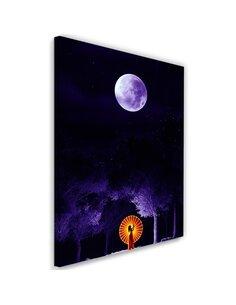 Tableau XXL giclée art print Image Decor Purple imprimé sur toile