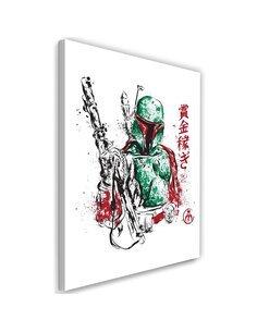 Tableau XXL galactic assassin Image Decor imprimé sur toile