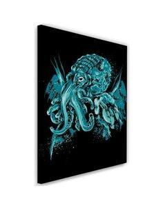 Tableau XXL Cthulhu Image Decor Pop art imprimé sur toile