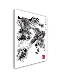 Tableau Space pirates Image imprimé sur toile