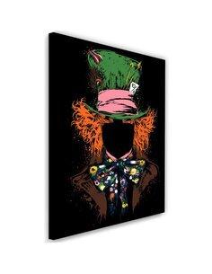 Tableau XXL Mad Hatter Image Decor imprimé sur toile