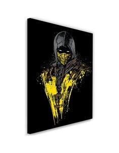 Tableau XXL Mortal Fire Image Decor imprimé sur toile