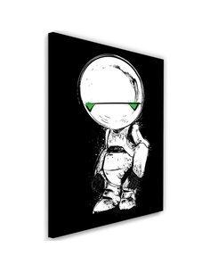 Tableau Pessimist Android Image imprimé sur toile