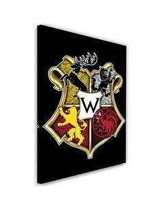 Tableau Westeros school Image Decor imprimé sur toile