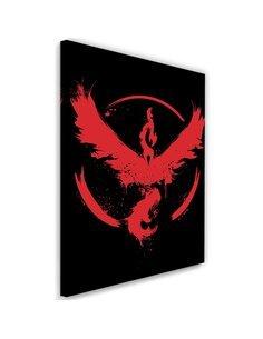 Tableau XXL Valor Image Decor bird Red imprimé sur toile