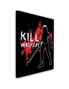 Tableau XXL Kill Walkers Image imprimé sur toile