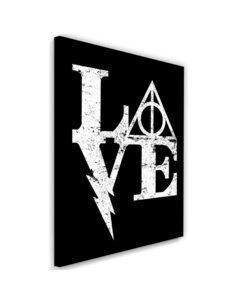 Tableau XXL Harry Love Image imprimé sur toile