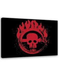 Tableau Image Print movie motive Canvas Wall art Decor Red imprimé sur toile