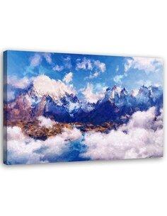 Tableau Image Print mountains landscape Canvas Wall art imprimé sur toile