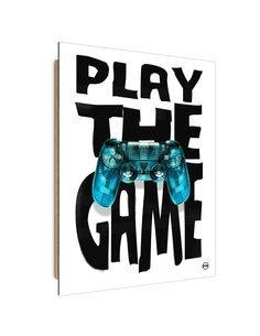 Tableau blue Pad imprimé sur bois