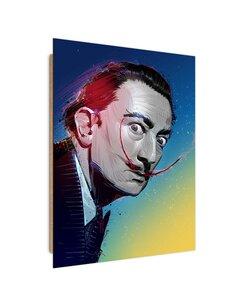 Tableau Salvador Dali imprimé sur bois