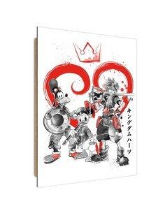 Tableau knights Bajkowi imprimé sur bois