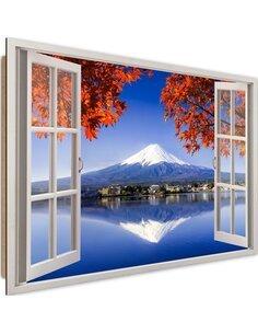 Tableau Mount Fuji imprimé sur bois