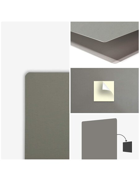 Plaque acier décorative Pattern Forbidden
