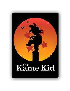 Plaque acier décorative Manga, Dragon Kid