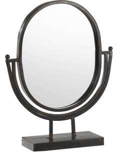 2x Miroirs sur pied metal KAMBISI
