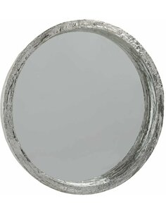 Miroir résine argenté large KOROVATU