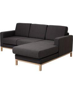 Canapé d'angle Droit SCANDIC 2 places