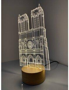 Lampe Bulbing NOTRE DAME DE PARIS 3D