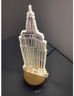 Lampe Bulbing EMPIRE STATE BULDING 3D