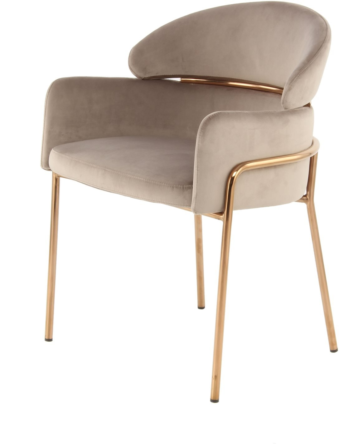 Fauteuil Corey 125 | Kayoom | Taupe, or rose