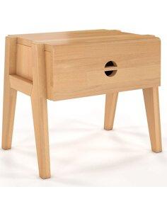 Table de chevet Visby Radom Hêtre