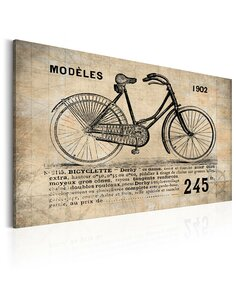 Tableau N° 1245 Bicyclette