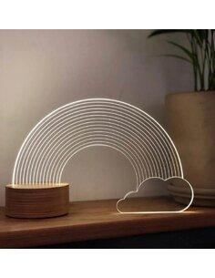 Lampe Bulbing RAINBOW 3D