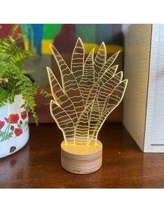 Lampe Bulbing SNAKE-PLANT 3D