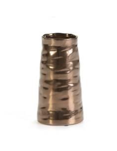 Vase 15x15x19 Céramique Doré