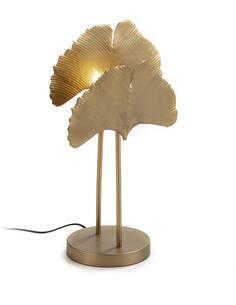 Lampe de Table 30x20x58 Métal Doré