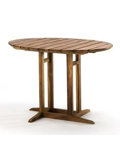 Table 100x75x70 Bois de Teck Naturel