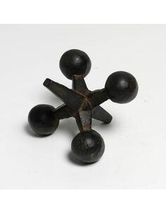 Figure 10x12x9 Métal Noir